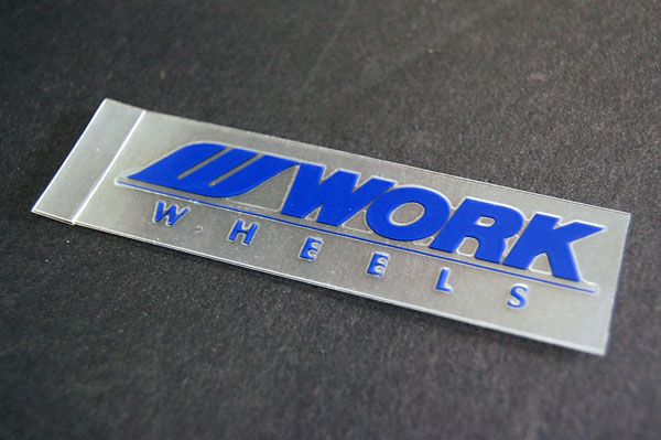 WORK MEISTER SPOKE DECALS (BLUE)