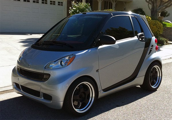 Meister S1 2p On Smart Car