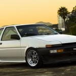 Equip 03 on Toyota AE86