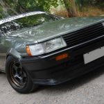 Meister CR01 on Toyota AE86