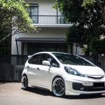 Meister S1R on Honda Jazz